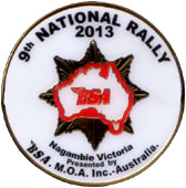 9th National Nagambie